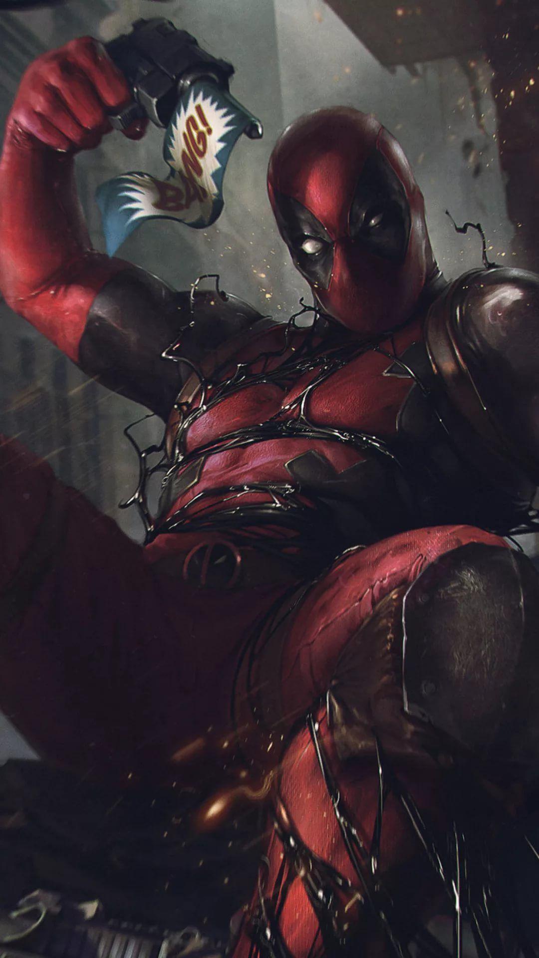 Deadpool phone wallpaper
