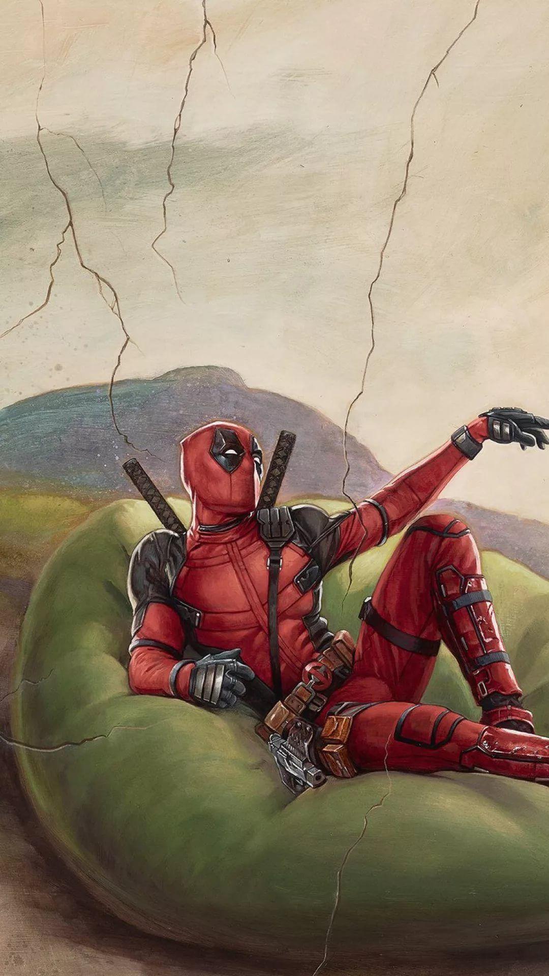 Deadpool wallpaper for iPhone