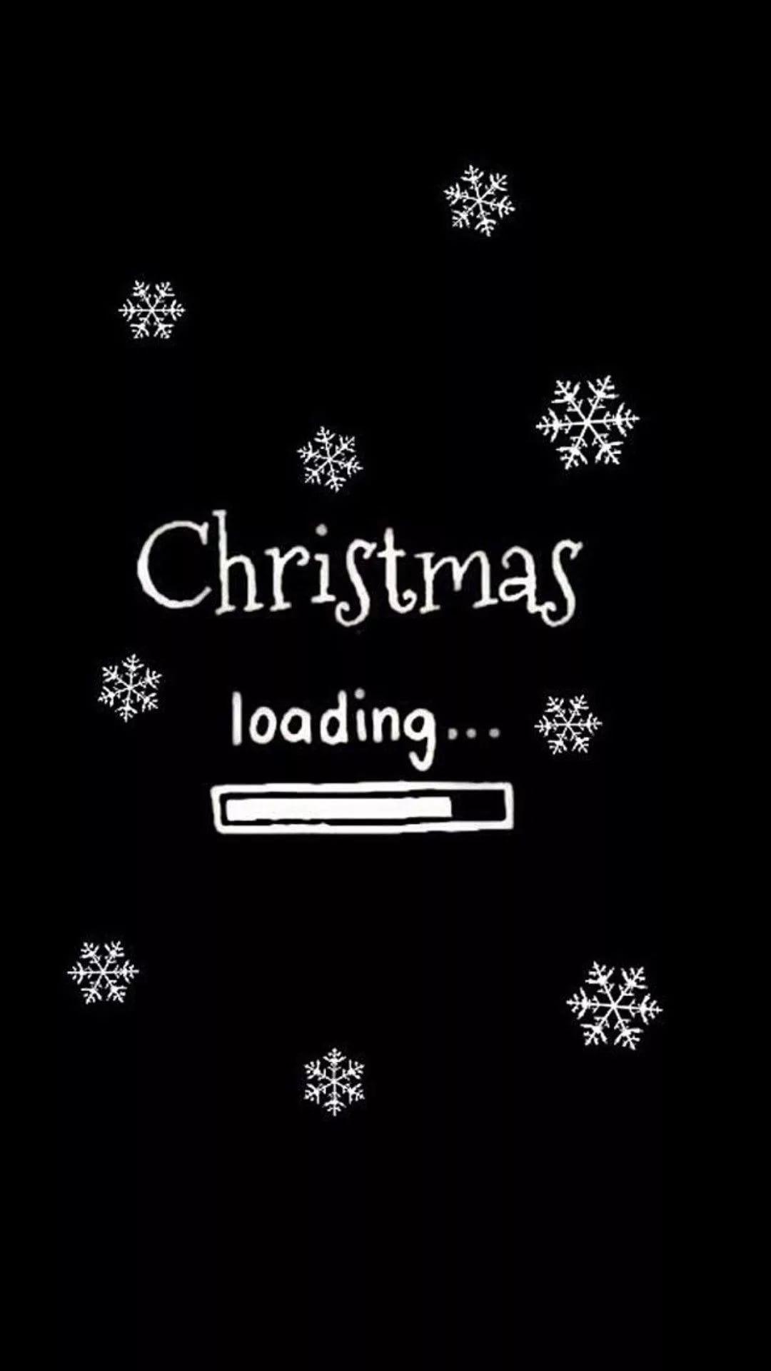 Free Christmas phone background