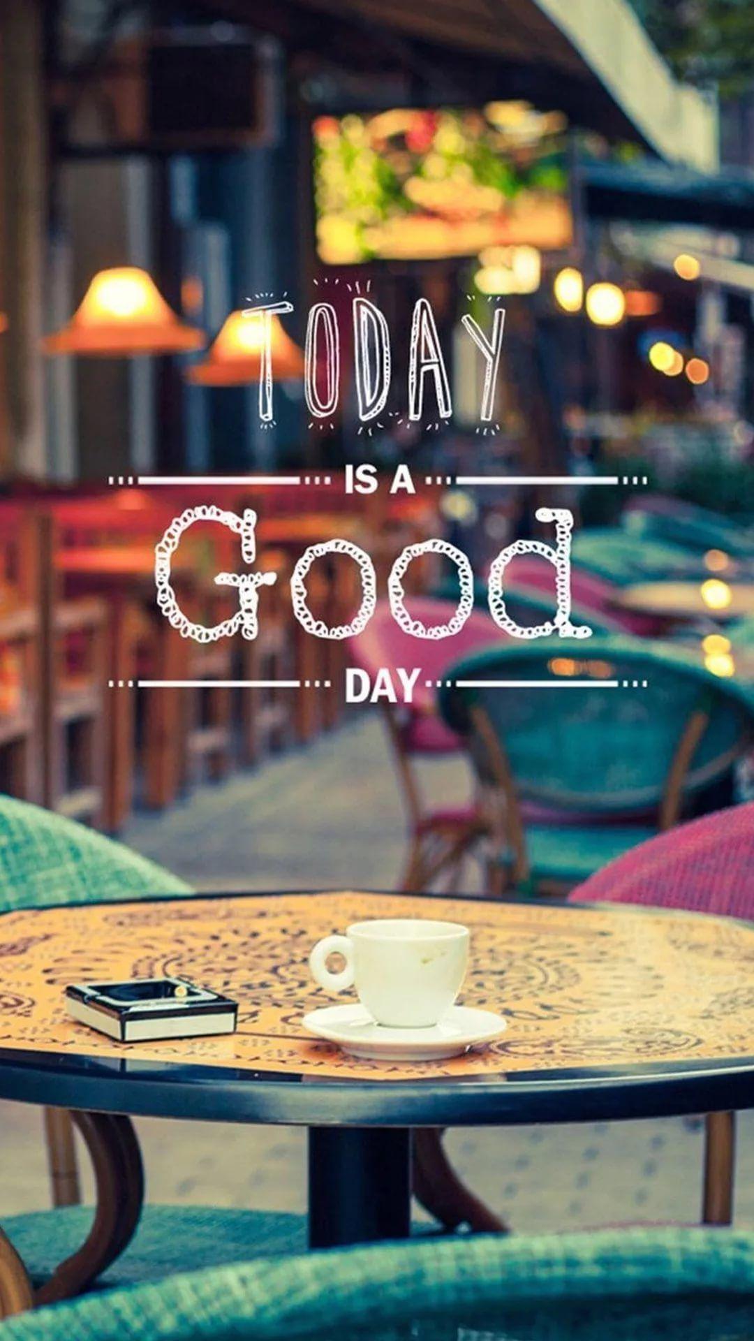 Free Good Morning Image iPhone 7 wallpaper