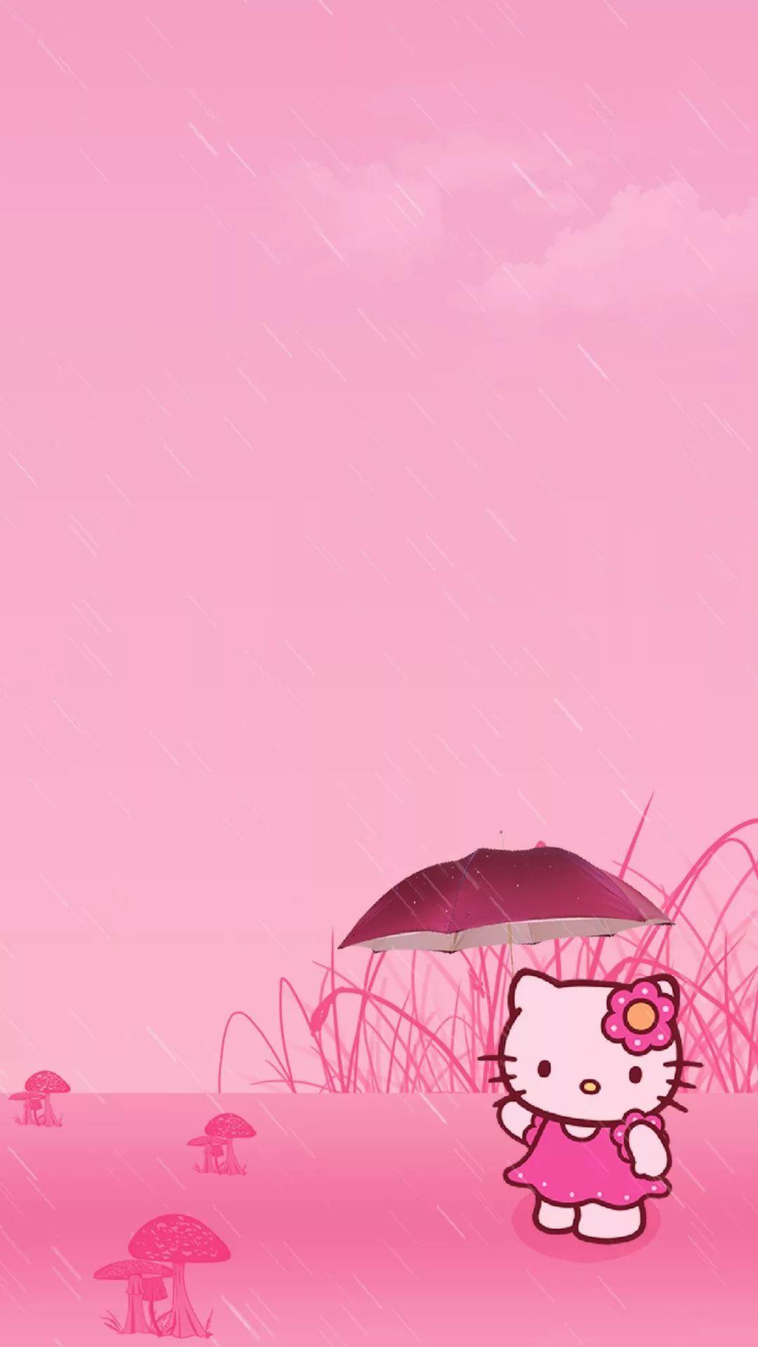 Hello Kitty phone wallpaper