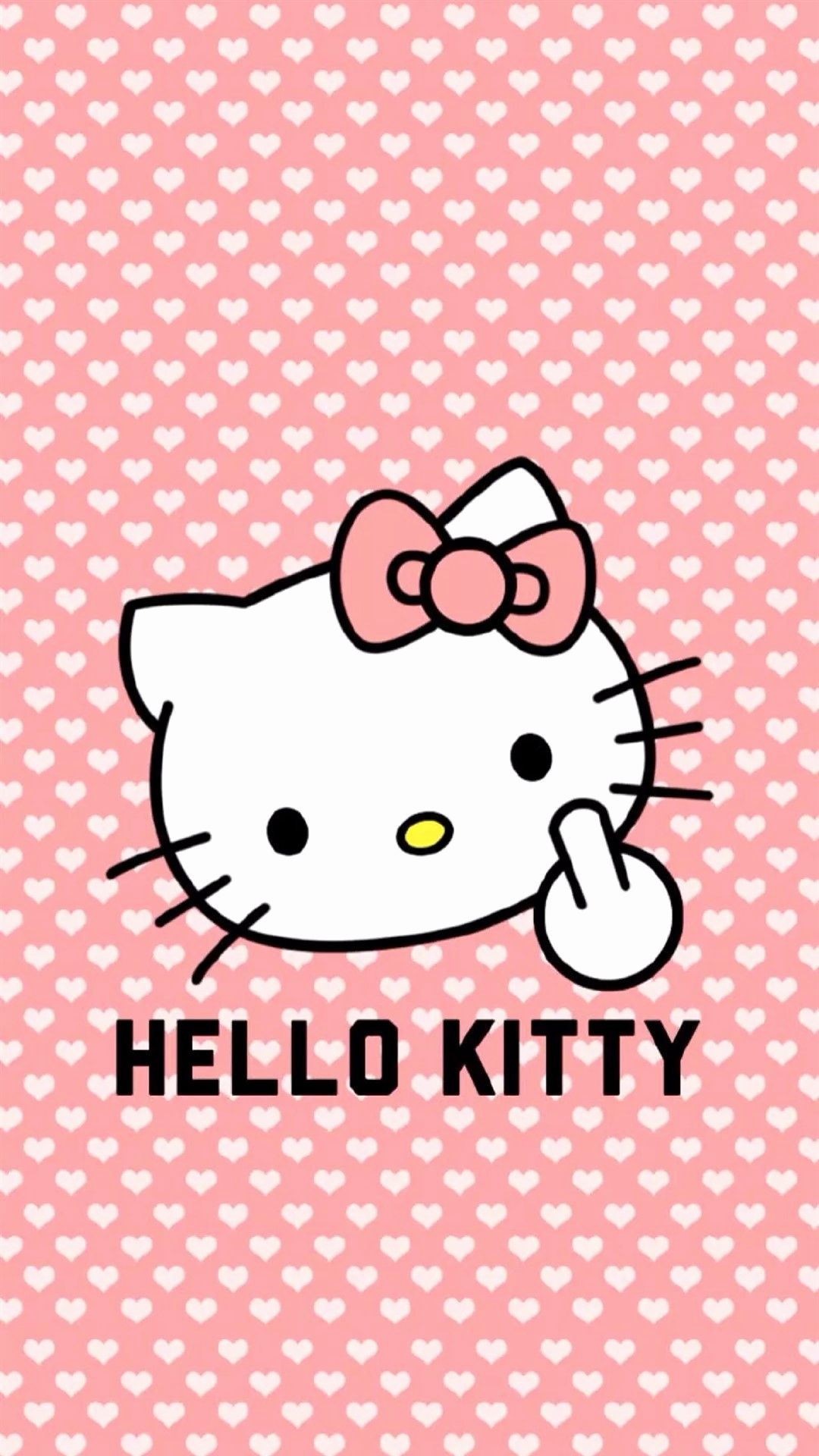 Hello Kitty wallpaper for iPhone
