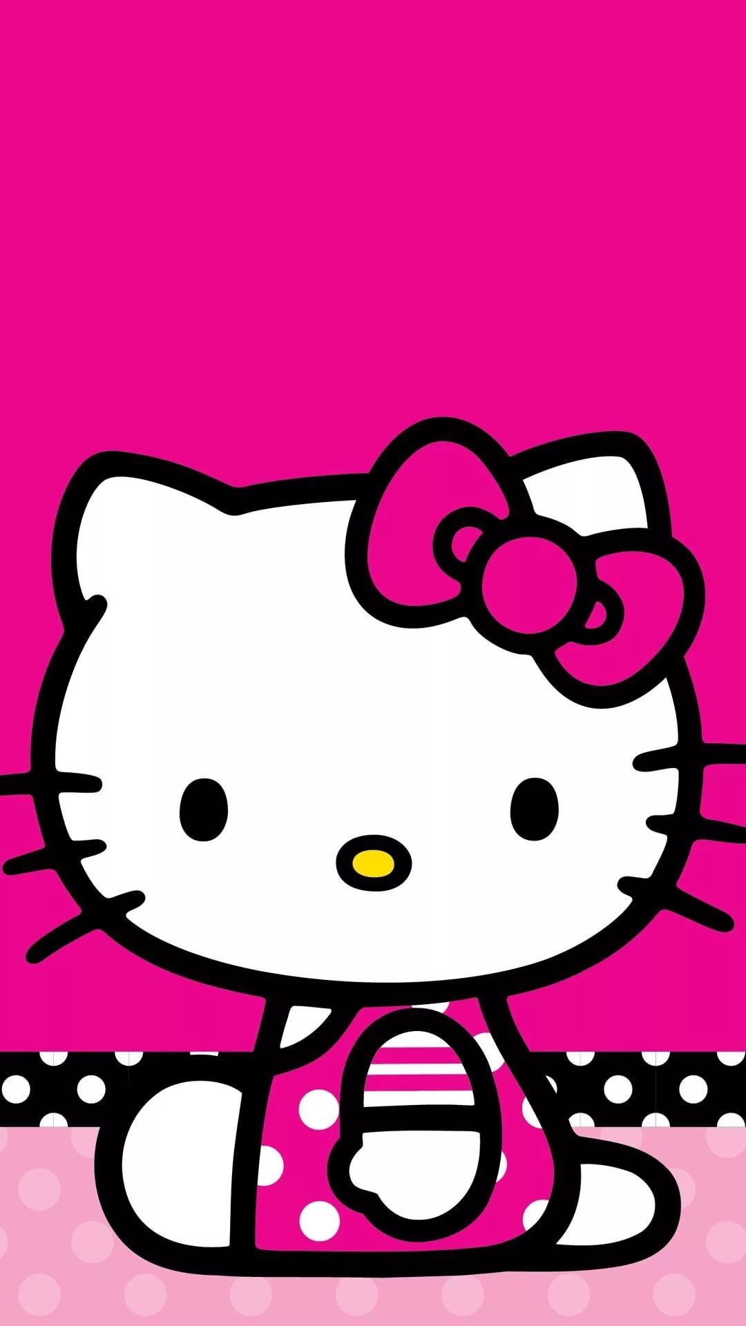 Hello Kitty iPhone 7 wallpaper