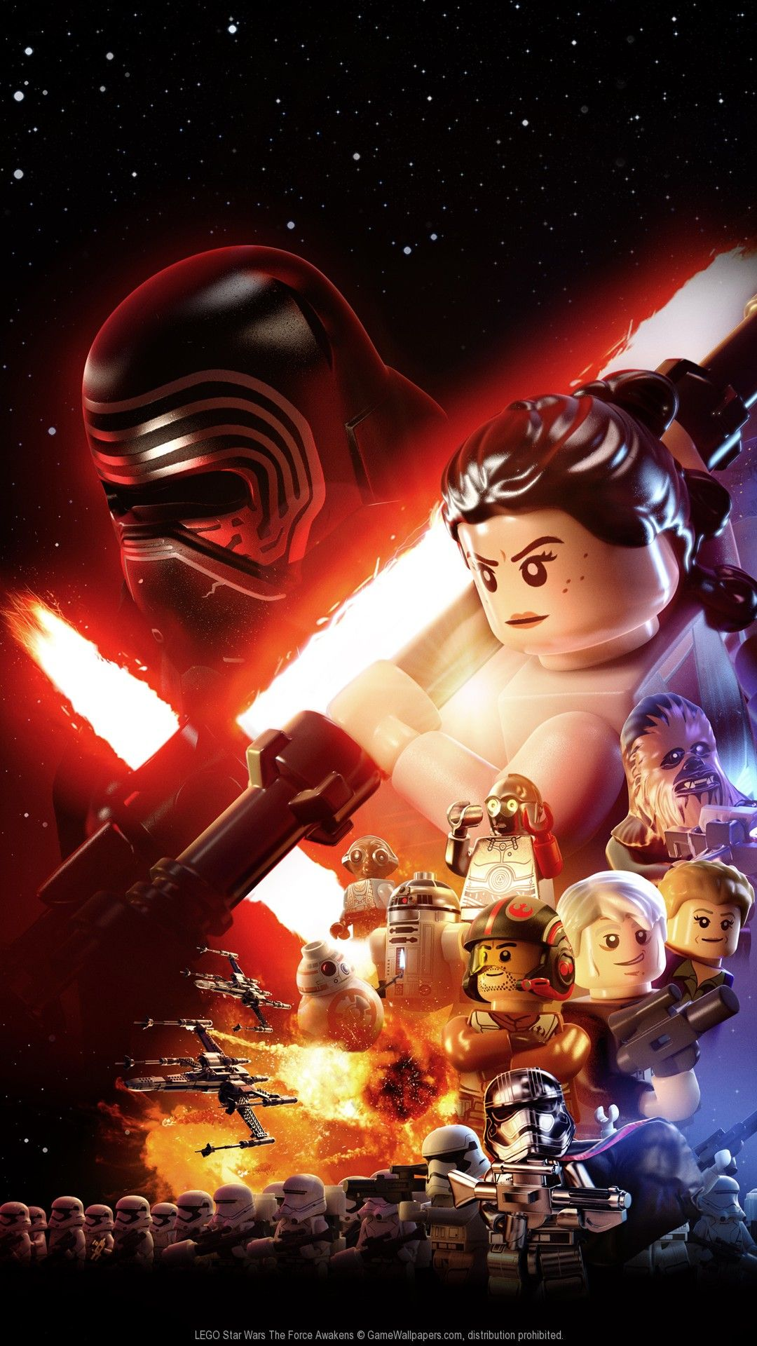 11 Lego Star Wars iPhone Wallpapers - WallpaperBoat