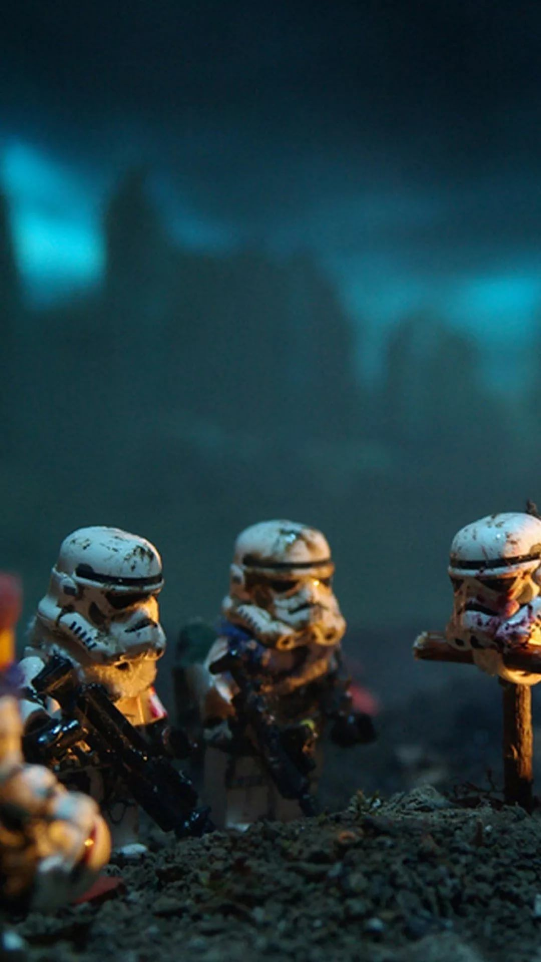 Lego Star Wars hd wallpaper