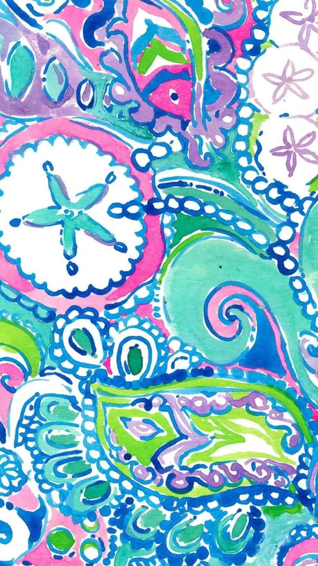 Lilly Pulitzer iPhone 7 wallpaper
