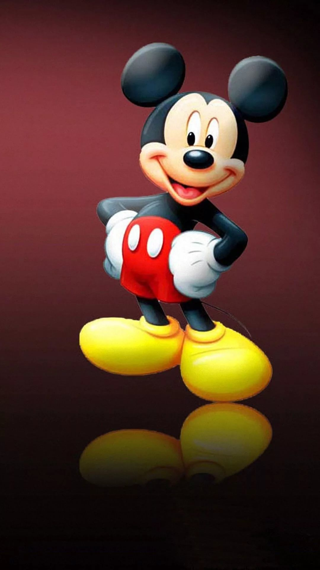 Mickey Mouse iPhone 5 wallpaper