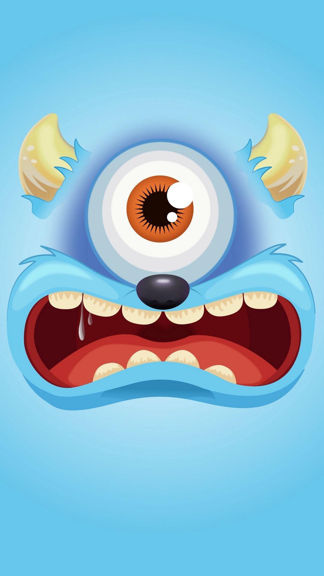 Monster Background iPhone 5 wallpaper