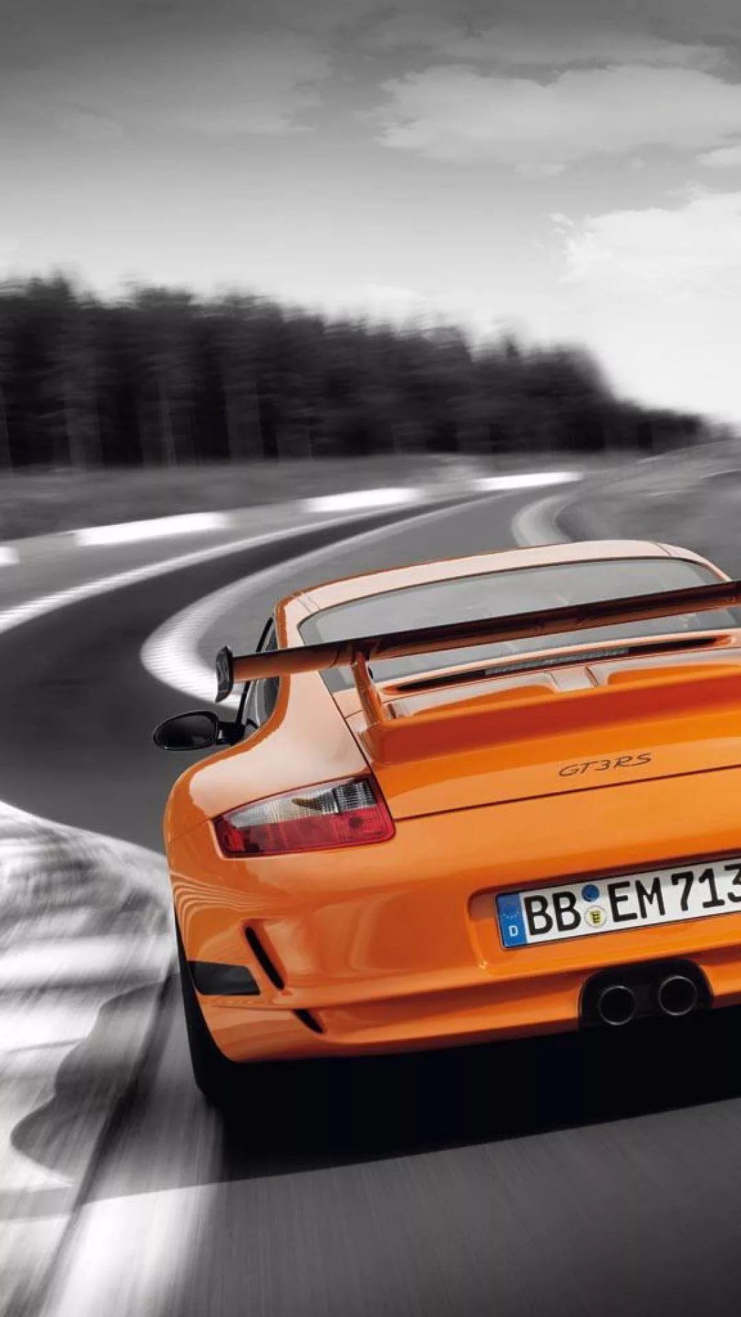 Porsche Gt3 Rs iPhone wallpaper