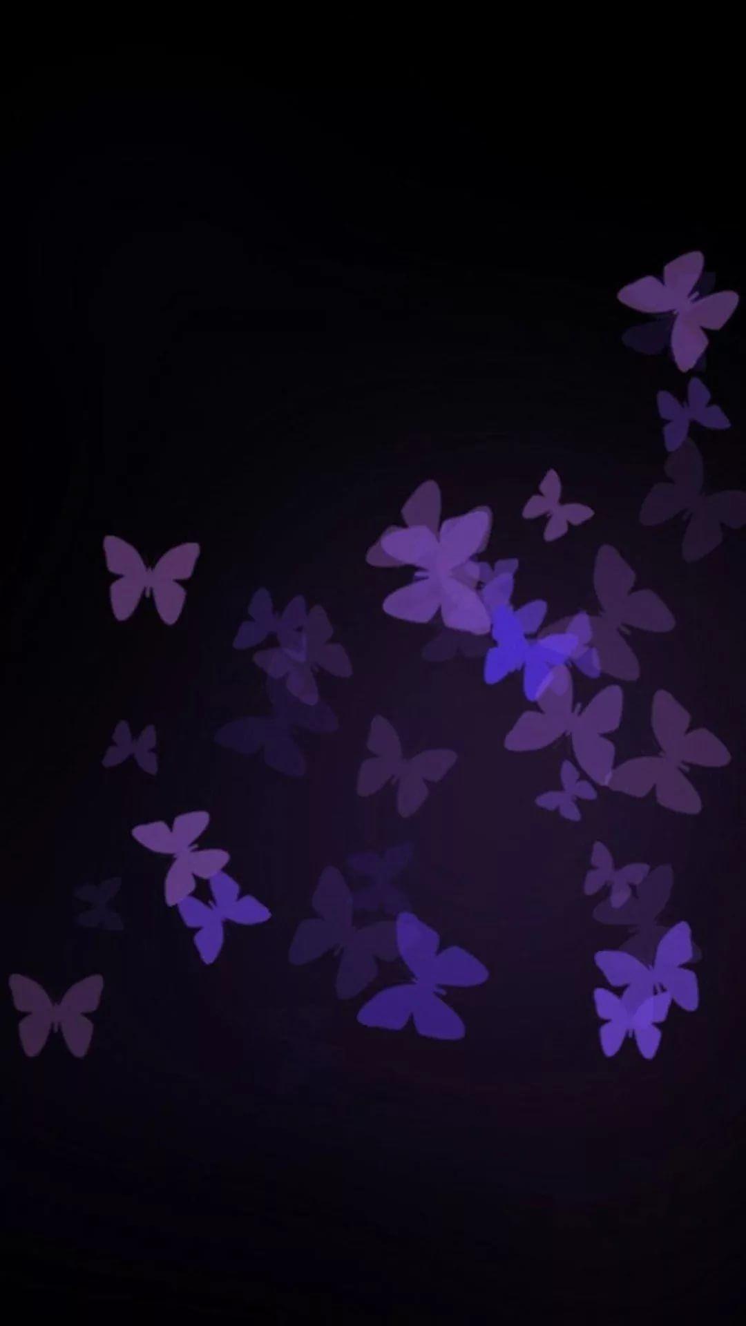 Purple iPhone 7 wallpaper