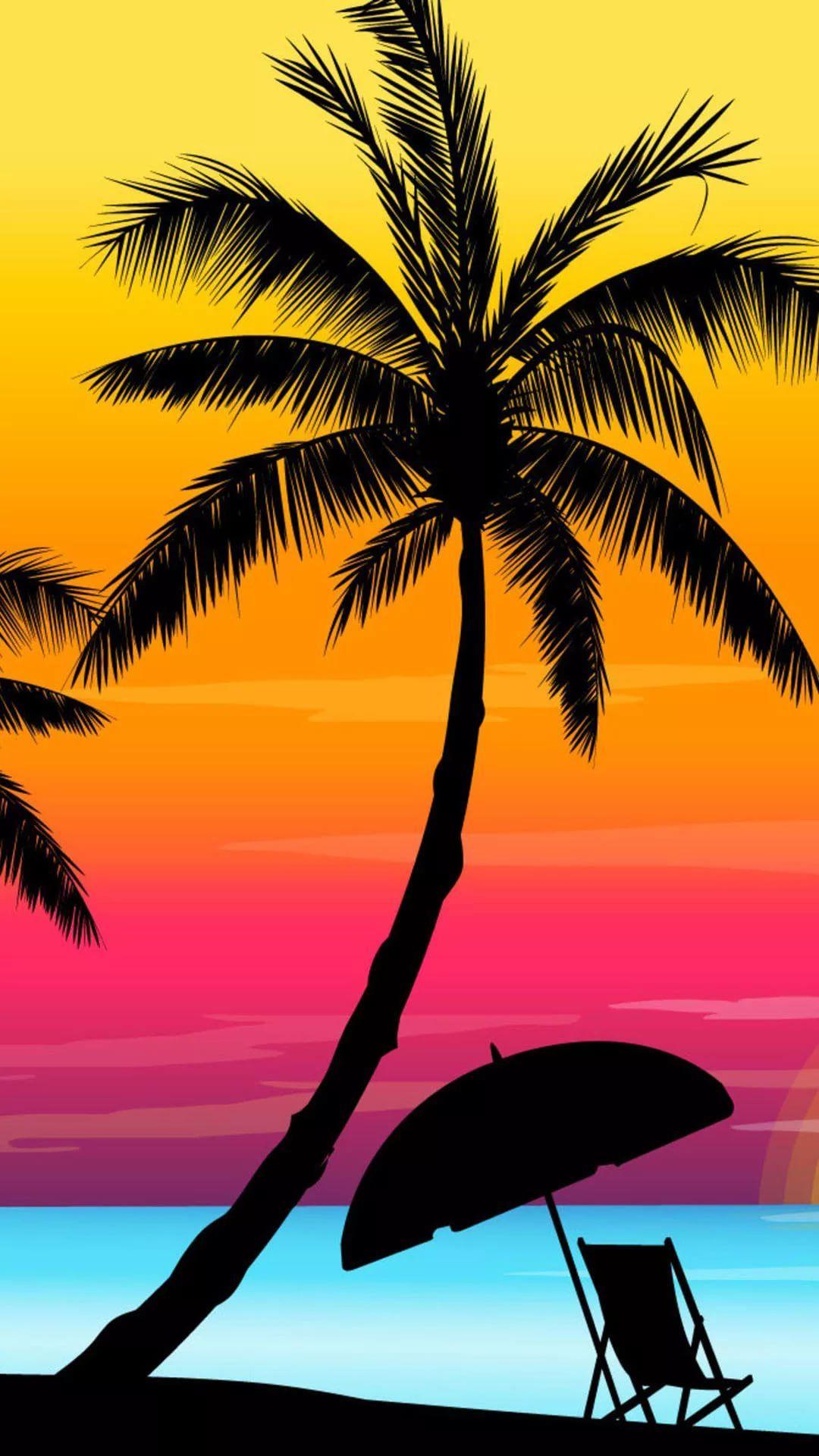 Summer iPhone 5 wallpaper