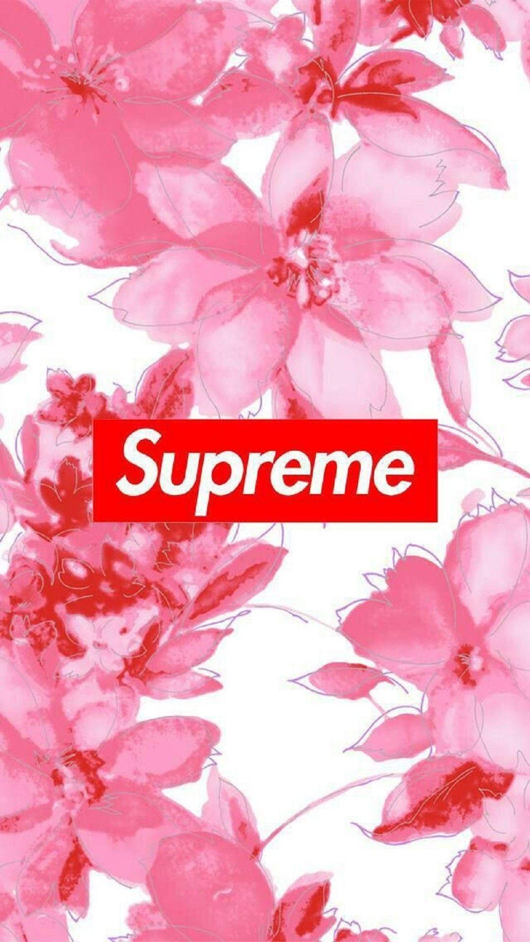 Supreme iPhone 5 wallpaper