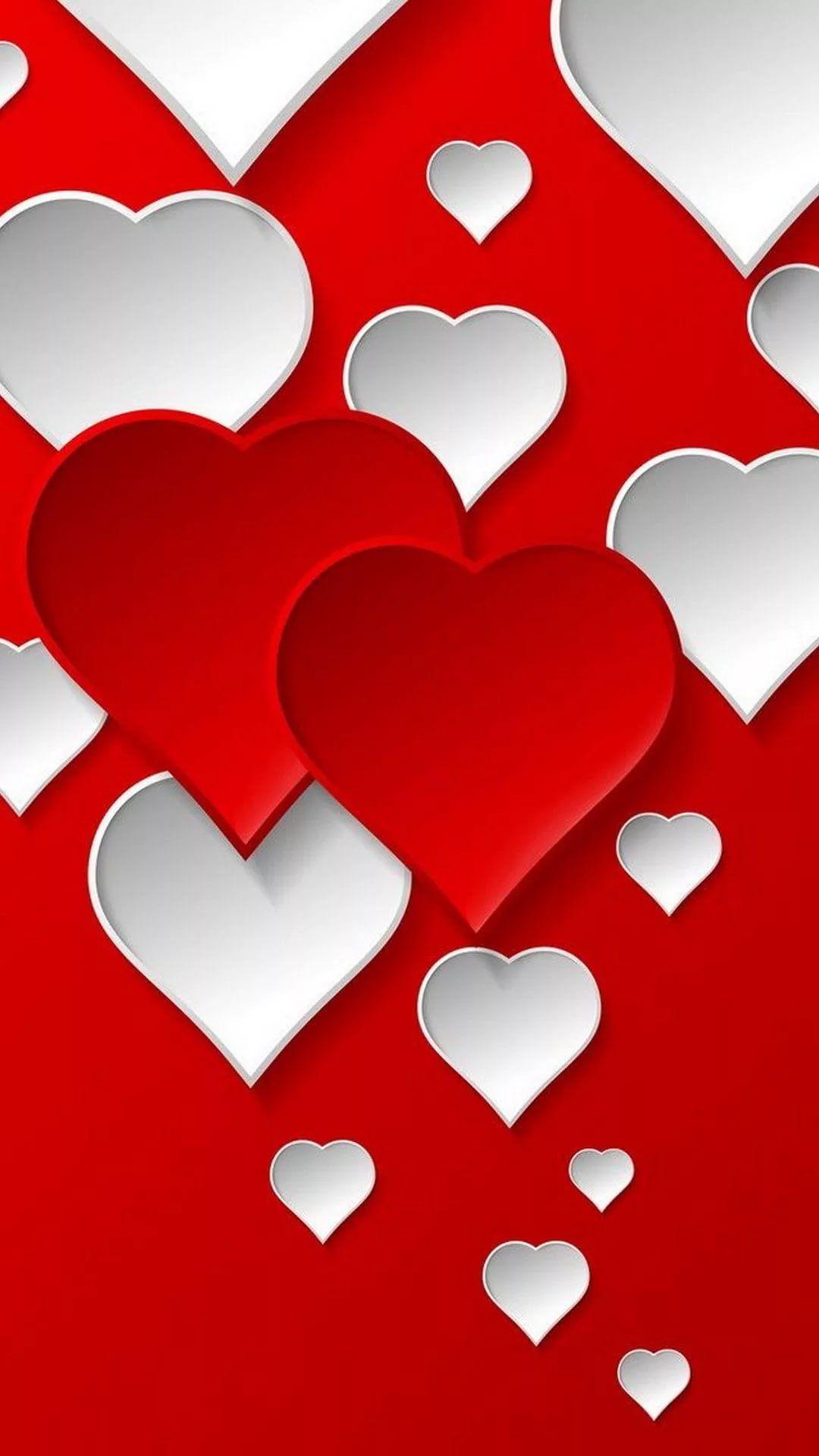Valentine's Day phone background