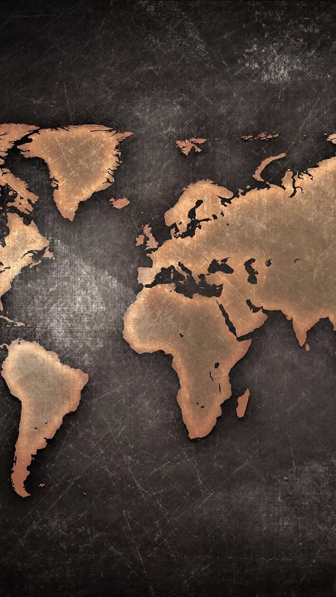 World Map iPhone 6 wallpaper