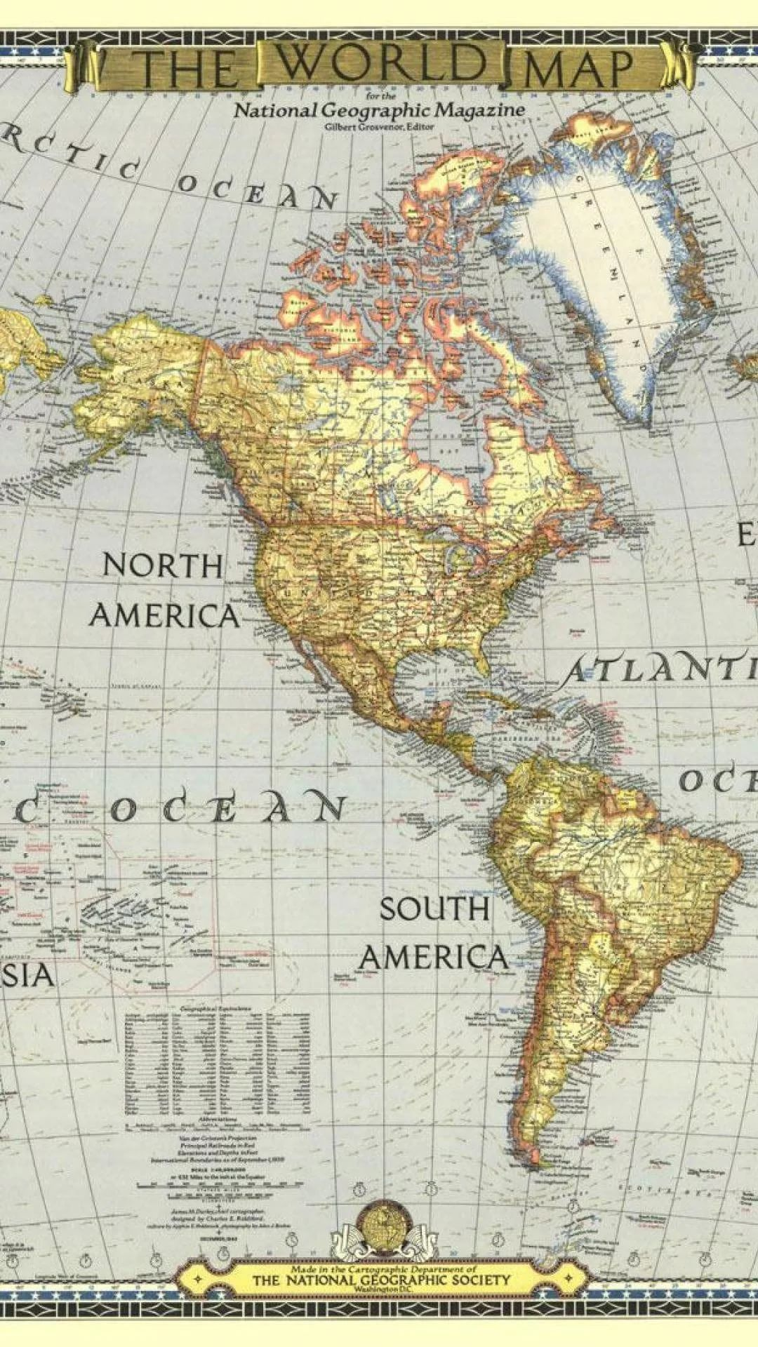 World Map wallpaper for android