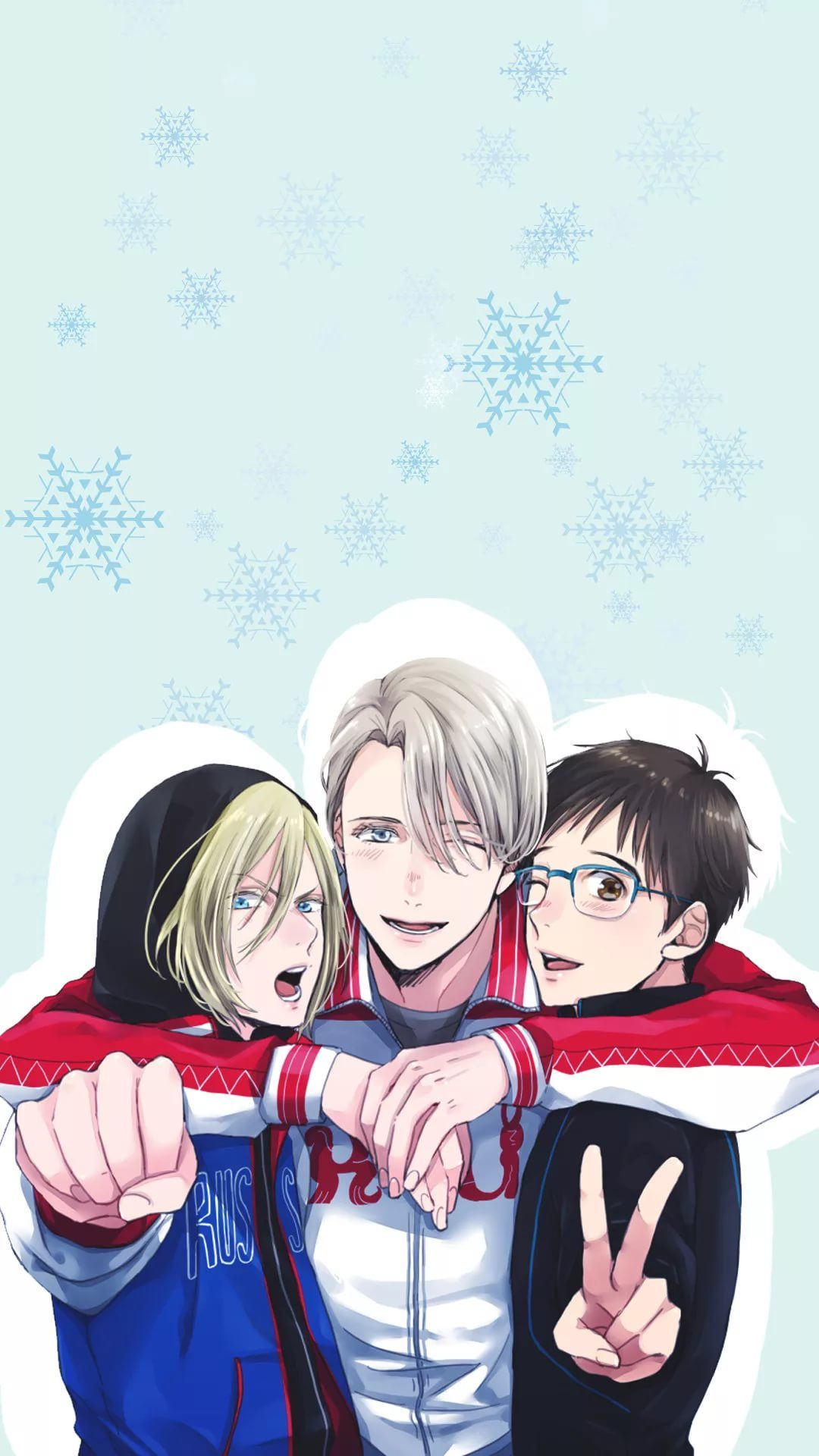 17 Yuri On Ice Iphone Wallpapers Wallpaperboat