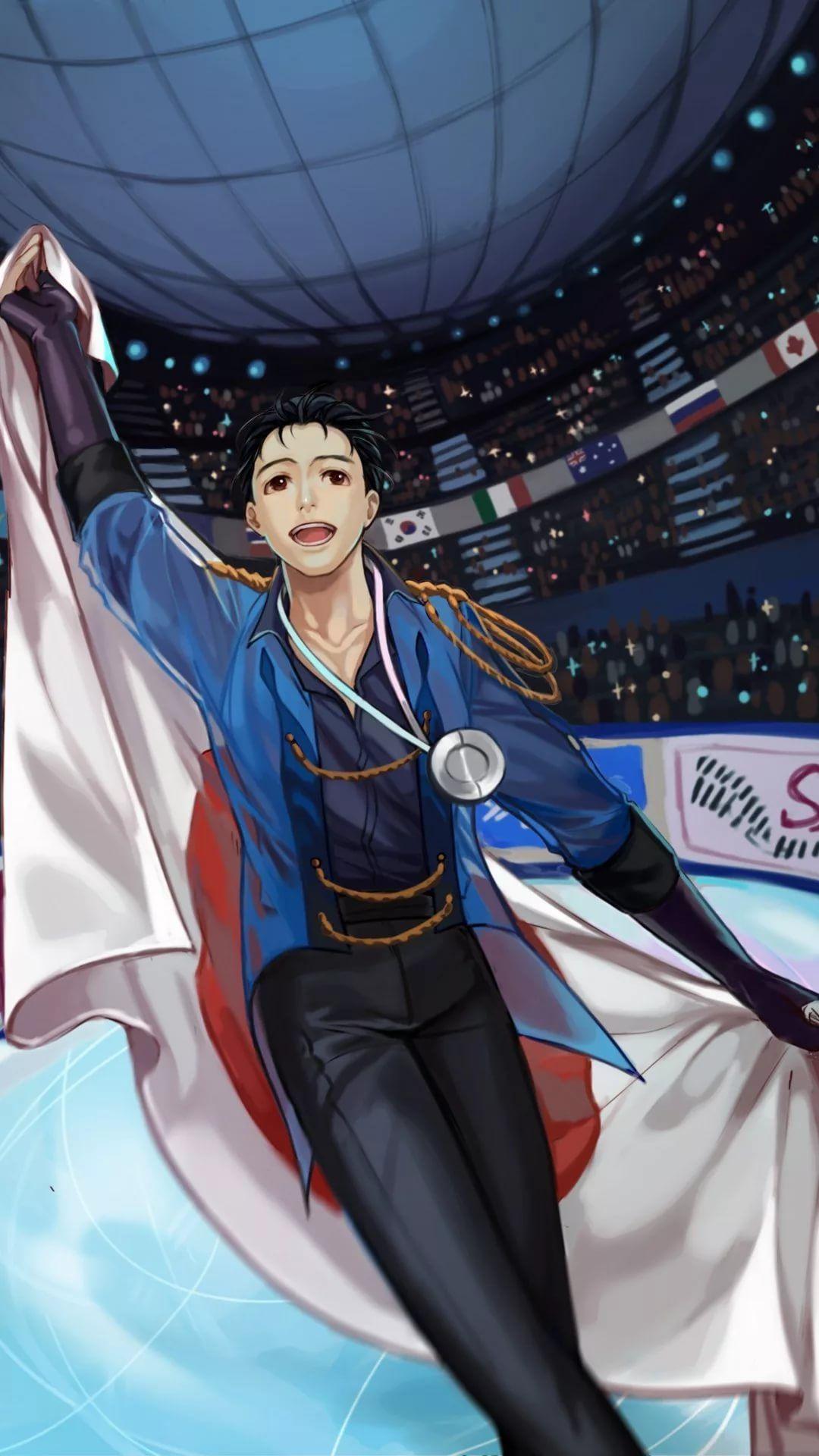 Yuri On Ice iPhone 7 wallpaper