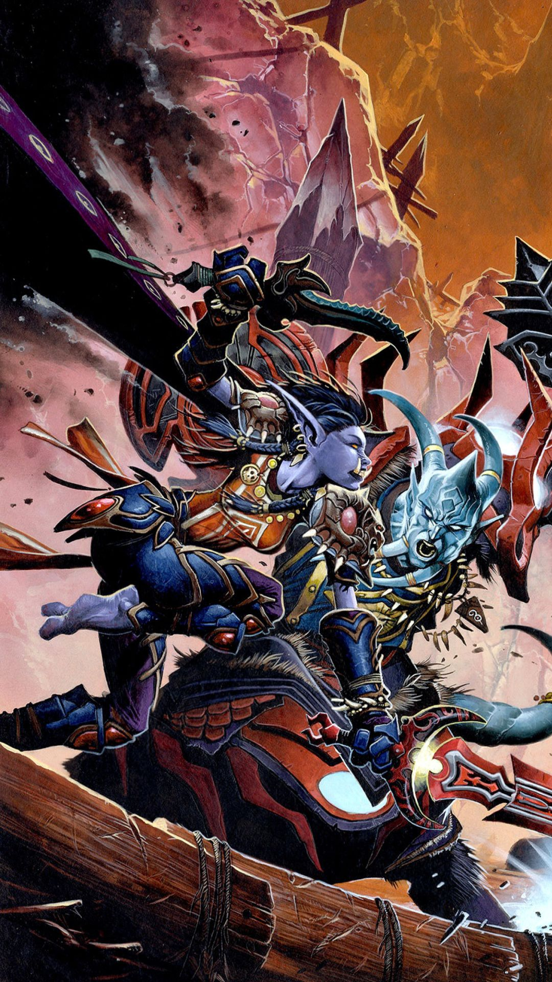 Обои World Of Warcraft для Iphone Plus