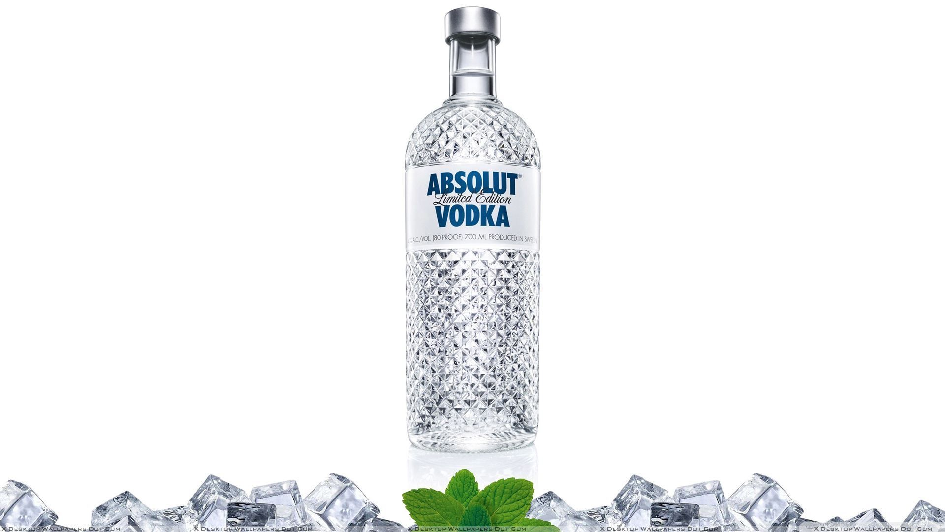 A Bottle Of Absolut Vodka, Vodka Art