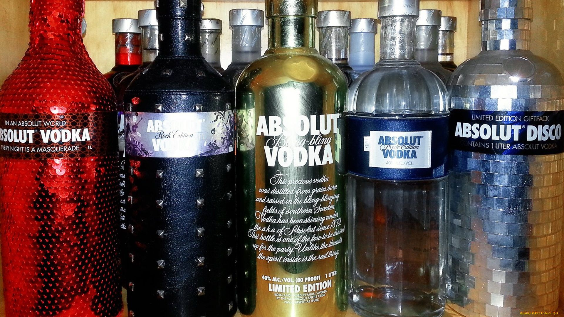 Absolut Vodka Brand