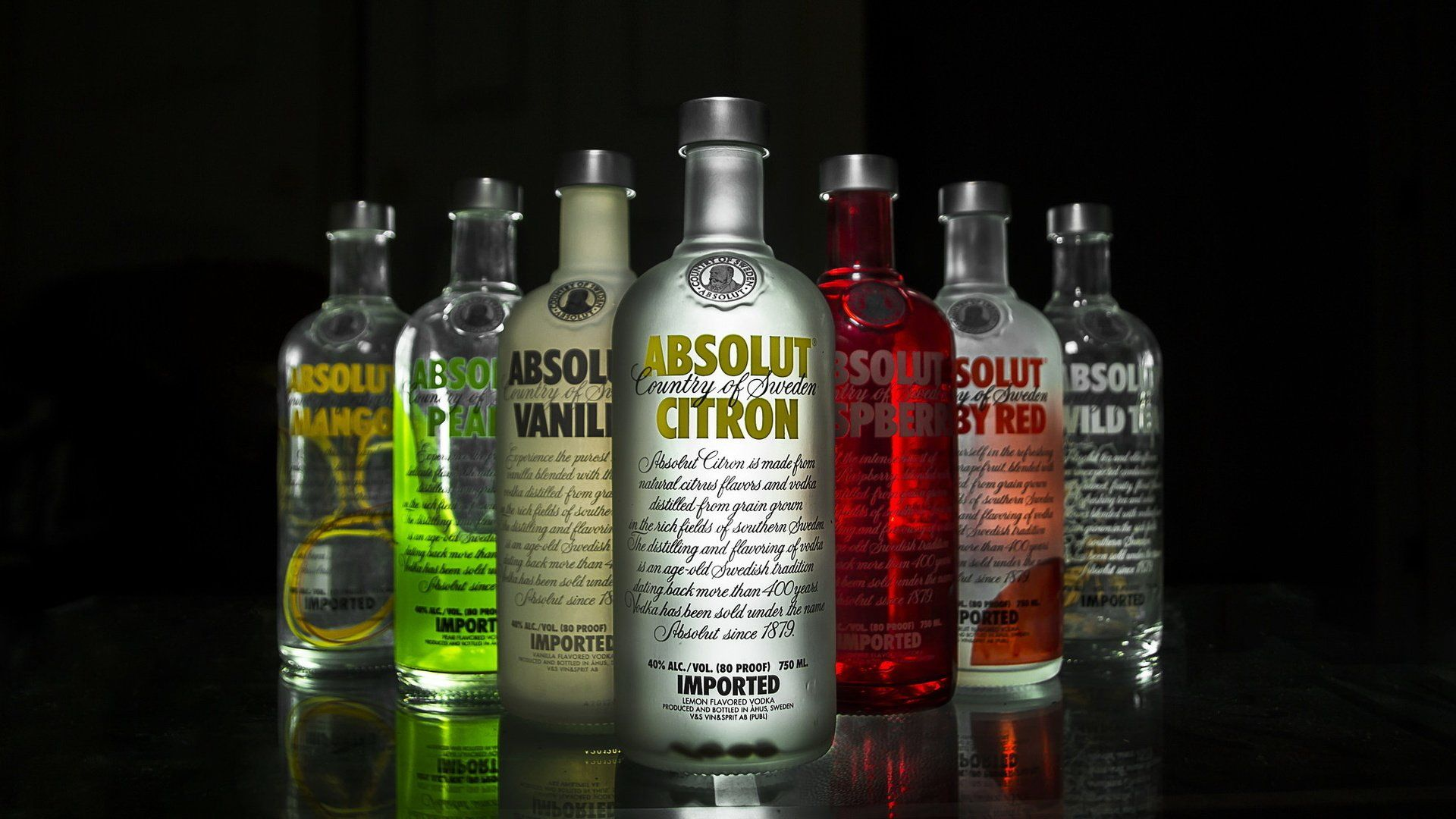 Absolut Vodka Flavors, Country Of Origin