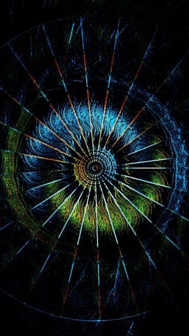 Abstract fractal Wallpaper