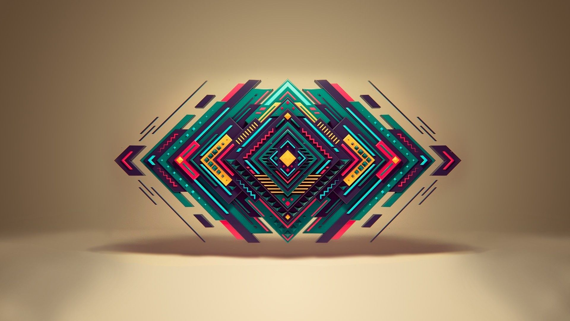 Abstraction, Geometry, Background, Abstraction Geometric Shapes