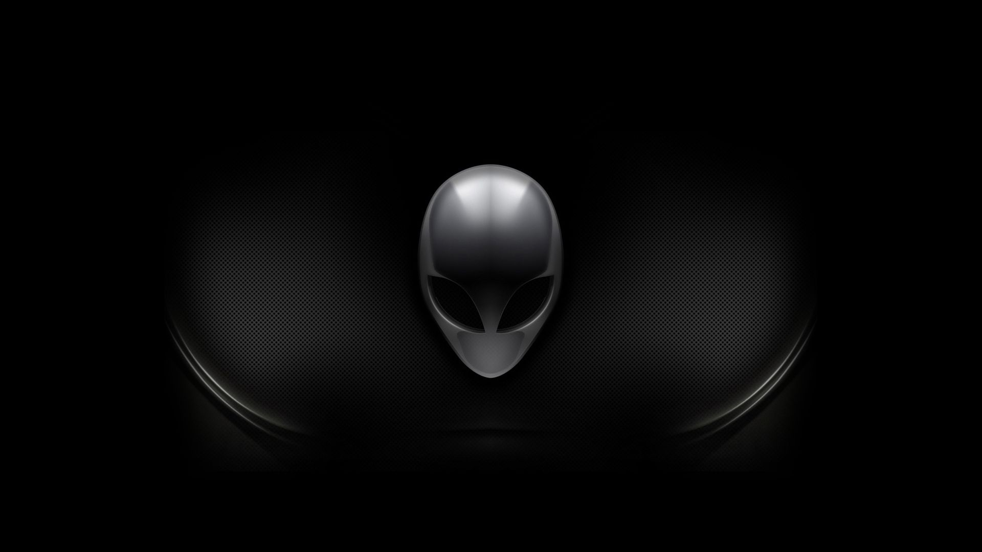 Alienware Dark Logo Wallpaper Hd