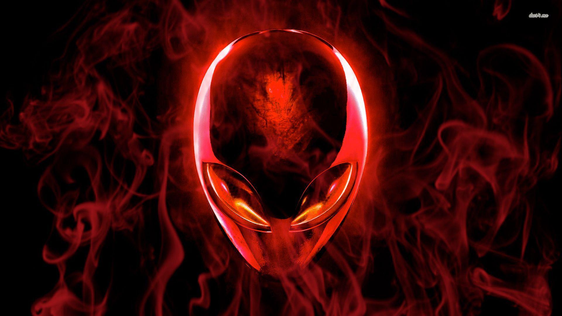 Alienware Red Wallpaper