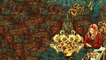Amy Pond Vincent Van Gogh Wallpaper