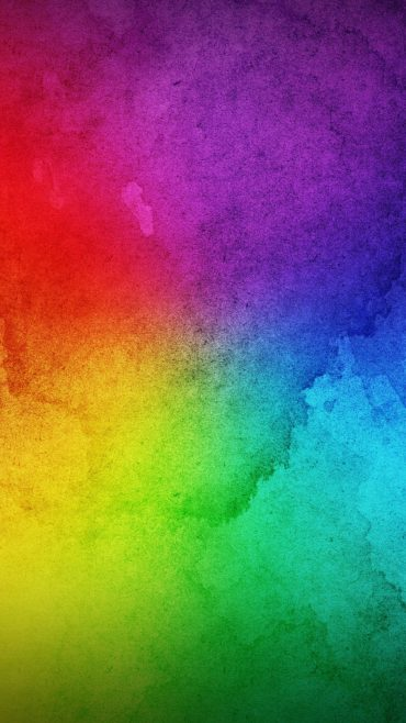 Android Wallpaper Rainbow Colors