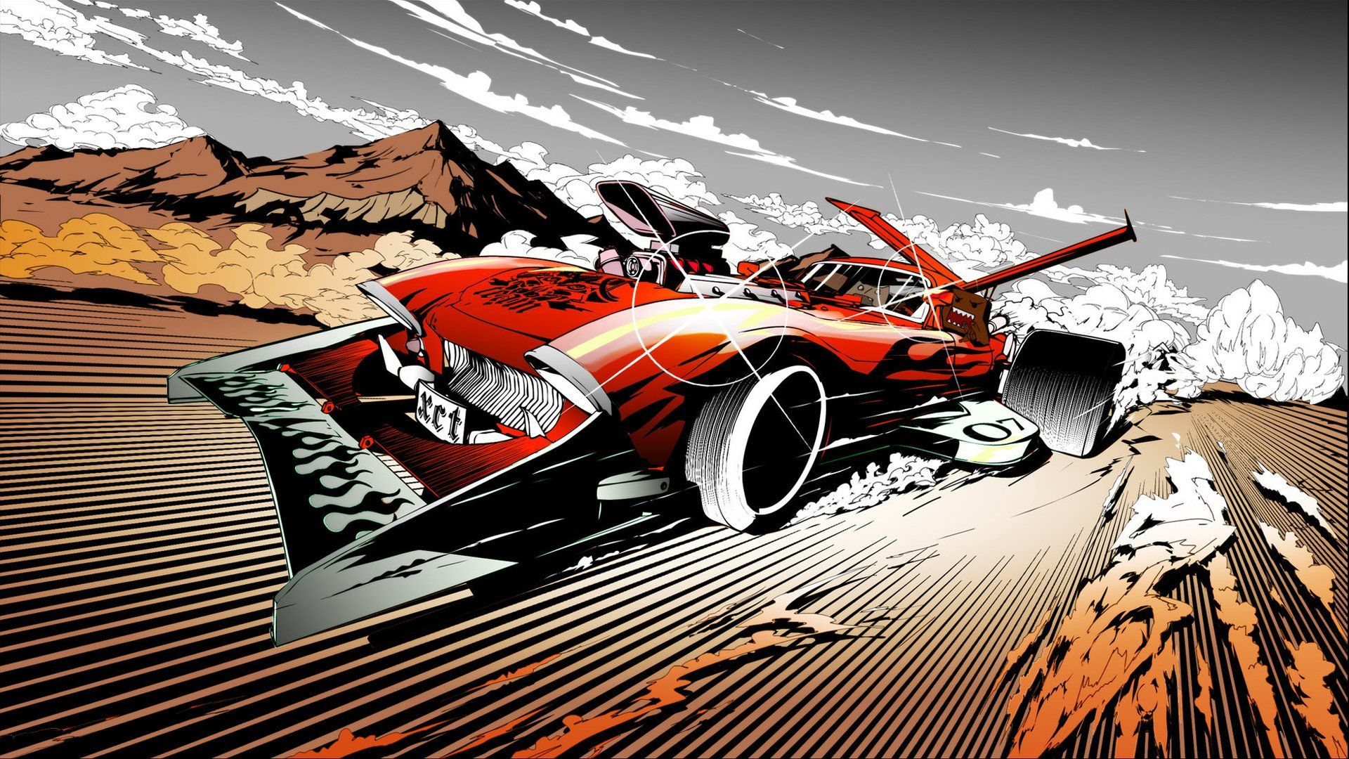 Anime About Racing Redline, Cars Art