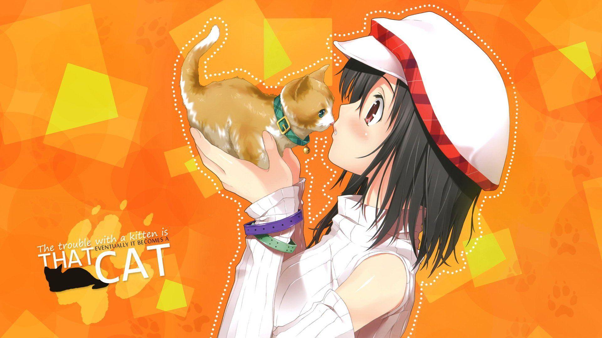 Anime Catgirl Hd Wallpaper Anime Wallpaper Better