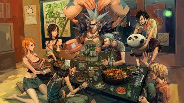 Anime Images Booze, One Piece Desktop