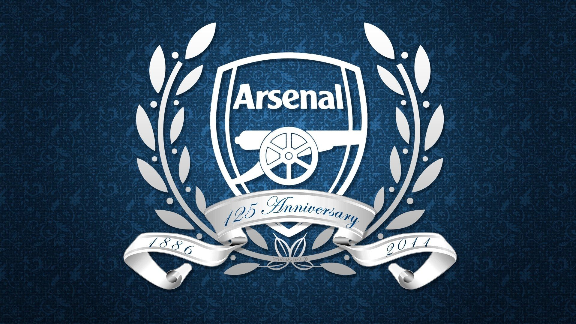 Arsenal Football Club Gunners Emblem Logo Emblem Background