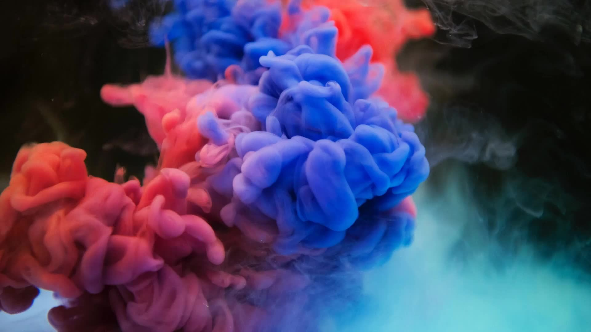 Artistic Abstract Colorful Smoke Live Wallpaper