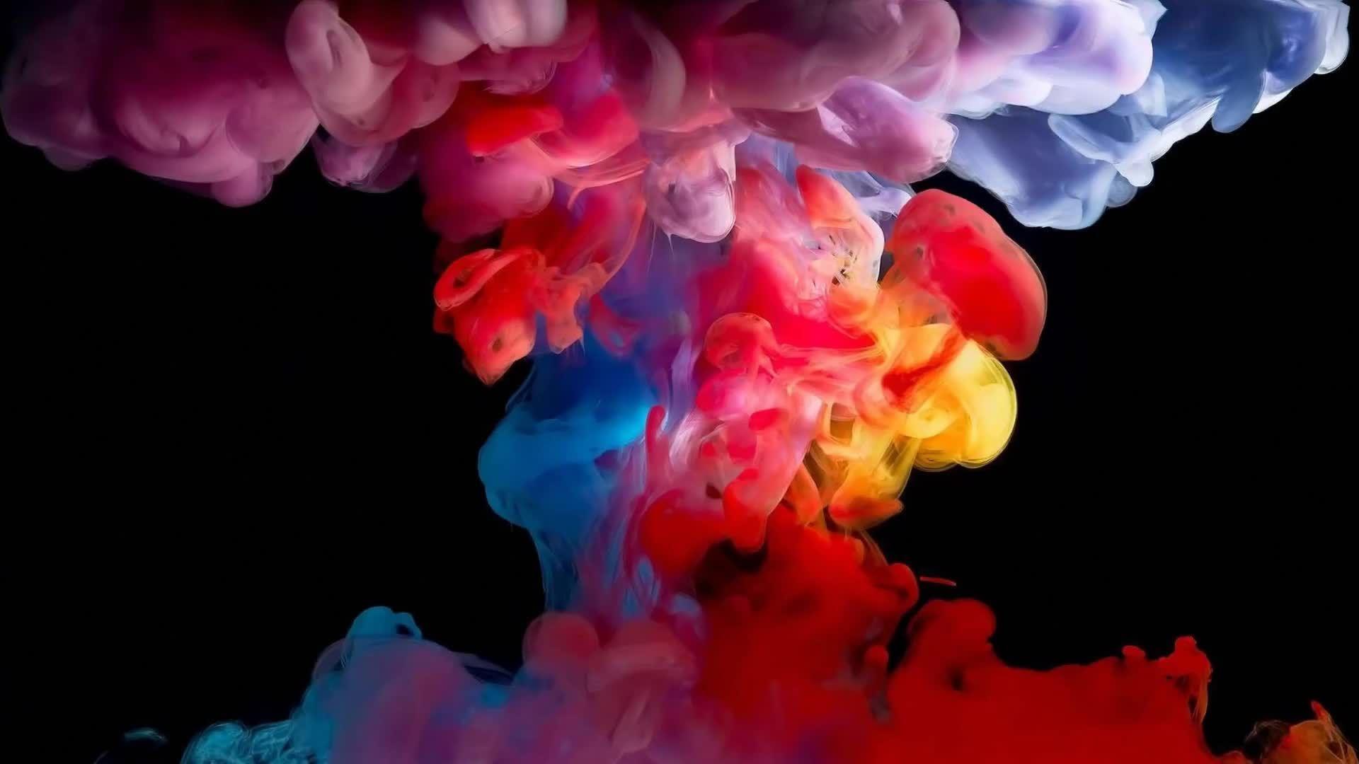Artistic Colorful Smoke Live Wallpaper