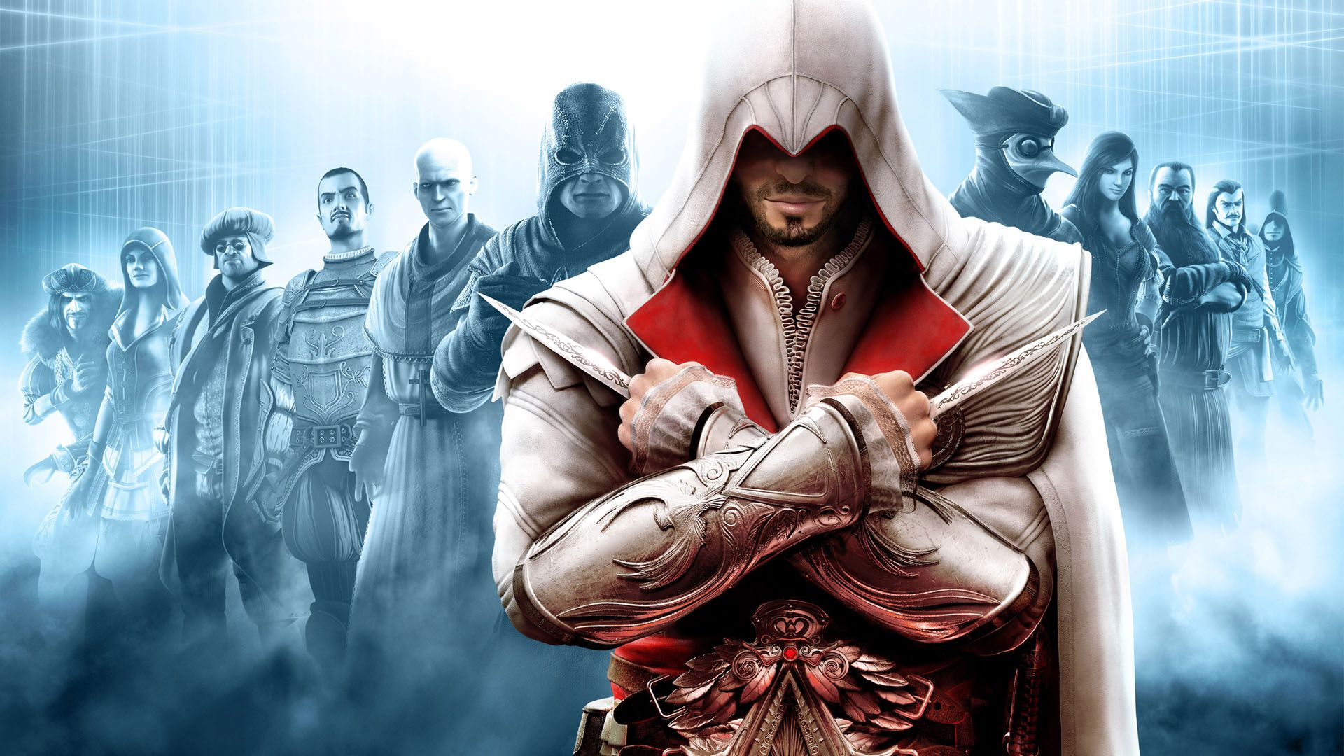 Assassin's Creed Brotherhood, Cover Assassin Creed Brotherhood