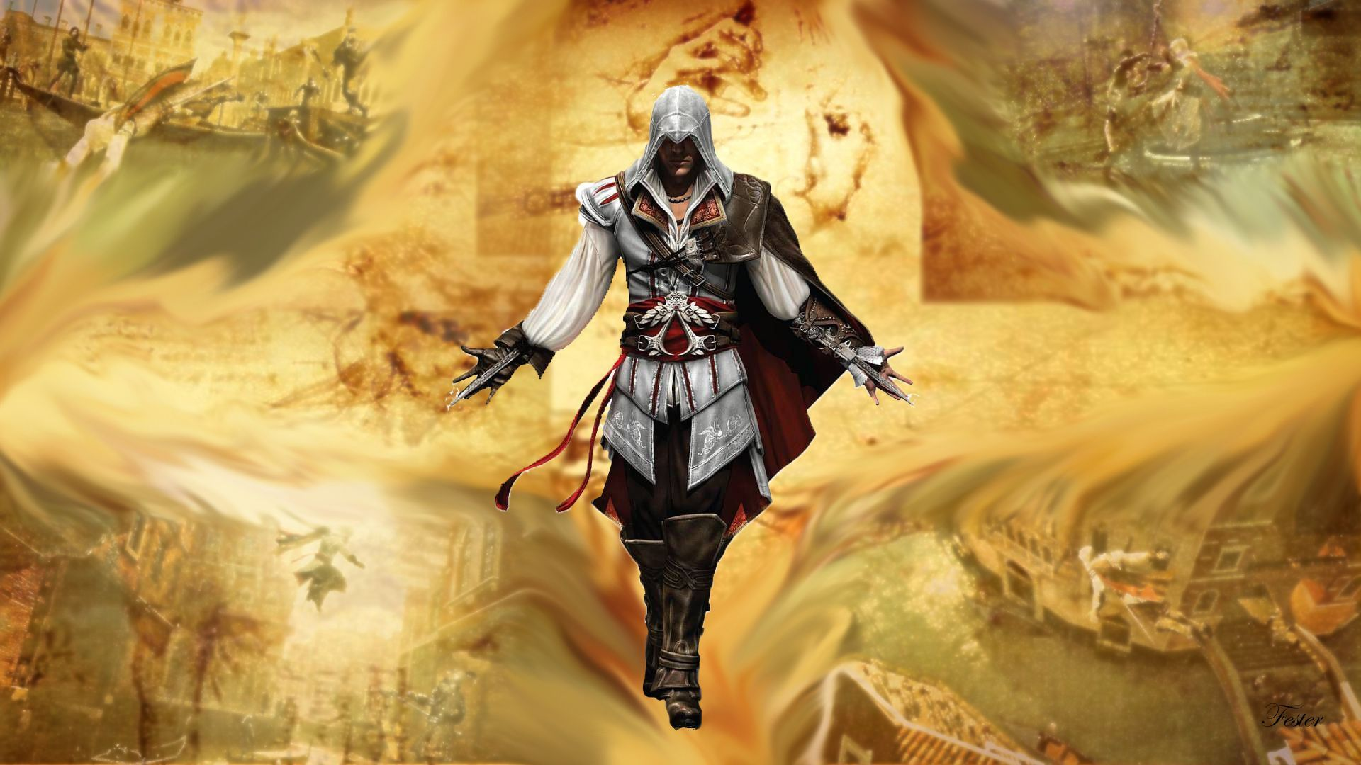 Assassin's Creed Ii Wallpaper, Assassins 2 Altair