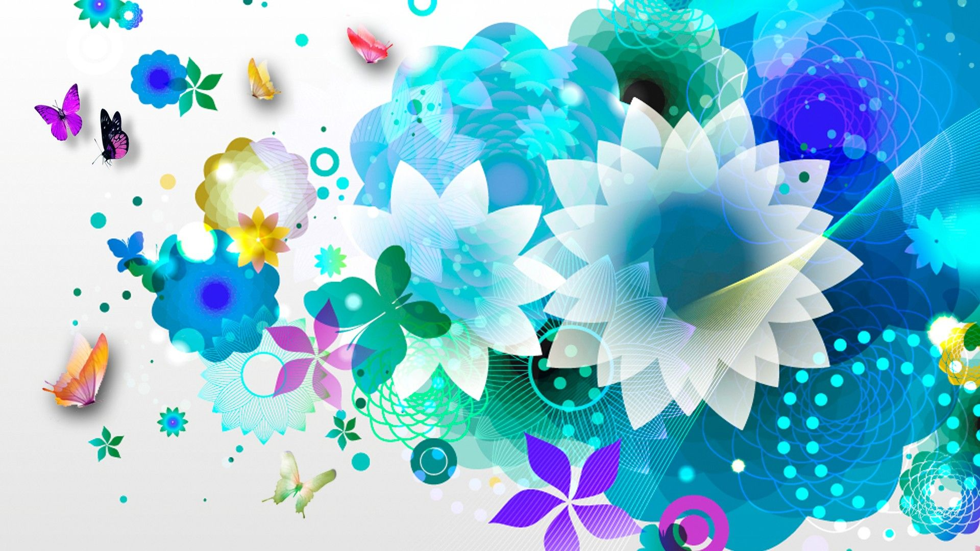 Background Abstract Colors Beautiful Bright Png