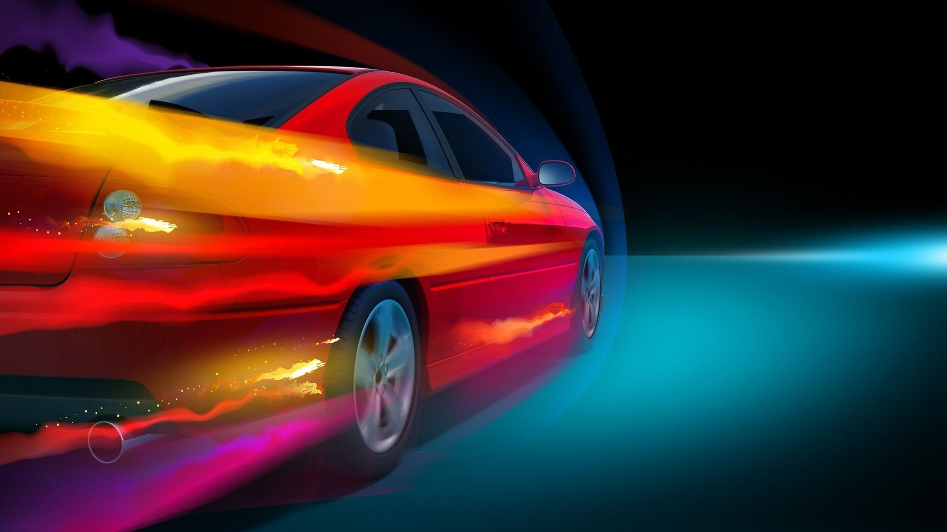Background, Speed, Abstract Car Wallpapers Hd