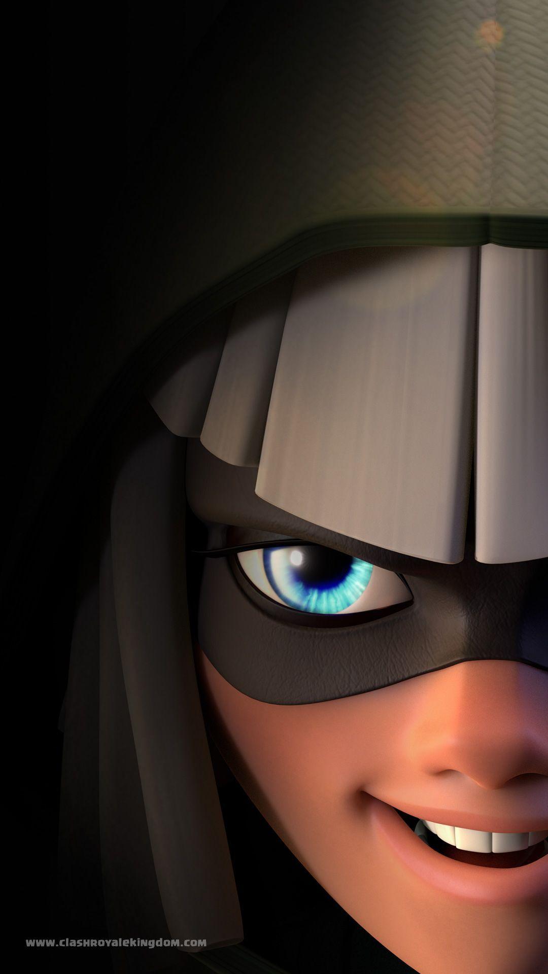 Bandit Face Clash Royale Wallpapers