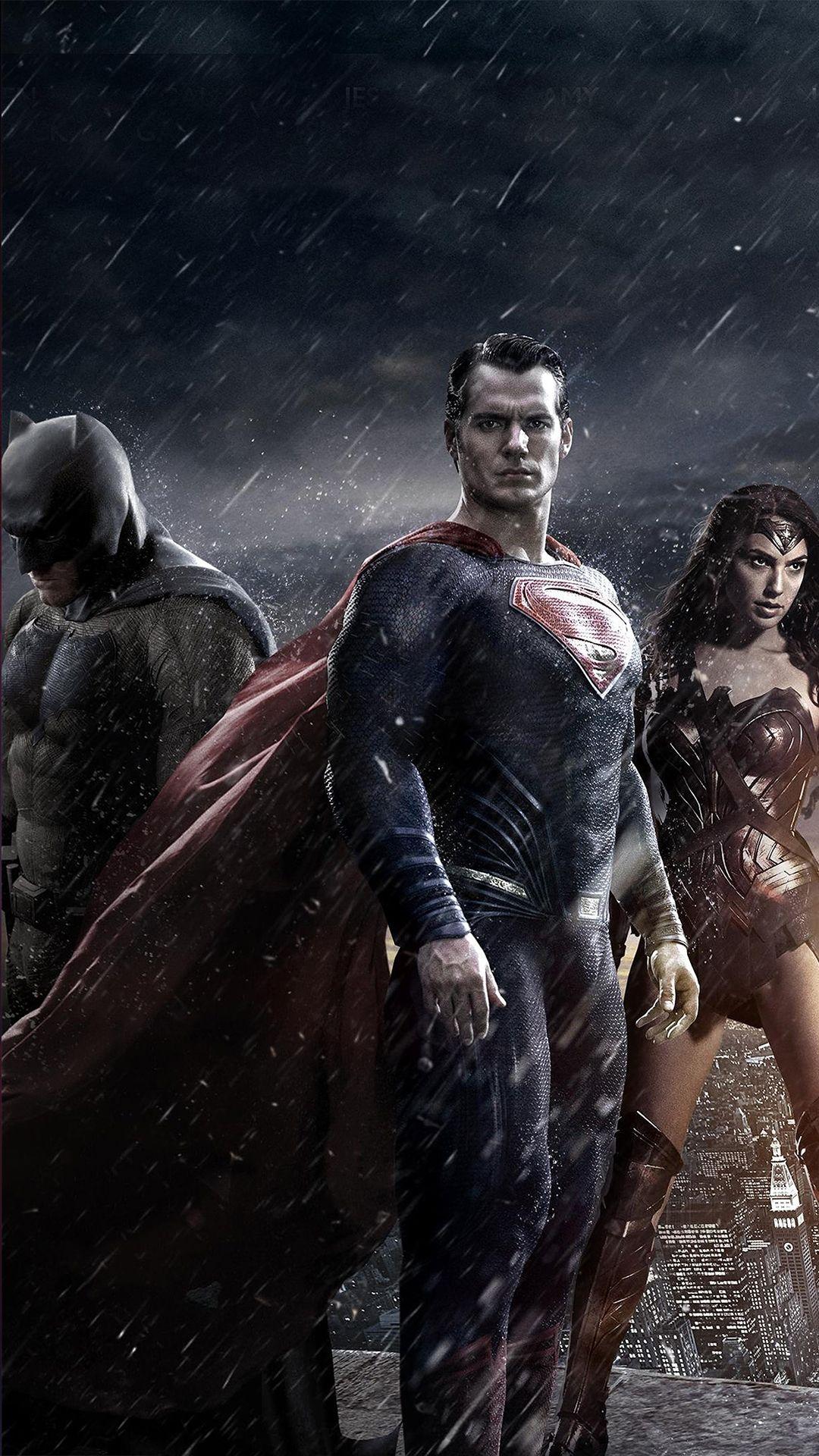 Batman Vs Superman Poster Iphone Wallpaper