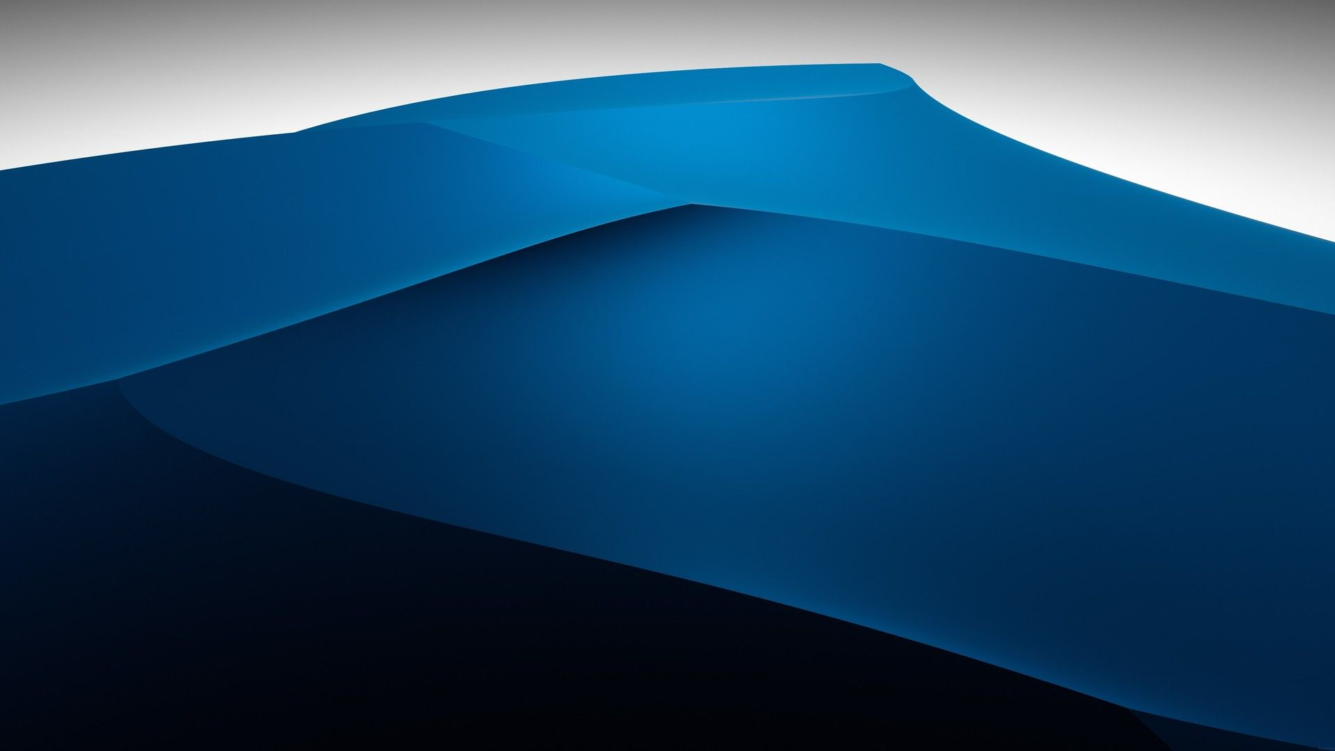 Blue Background Panorama