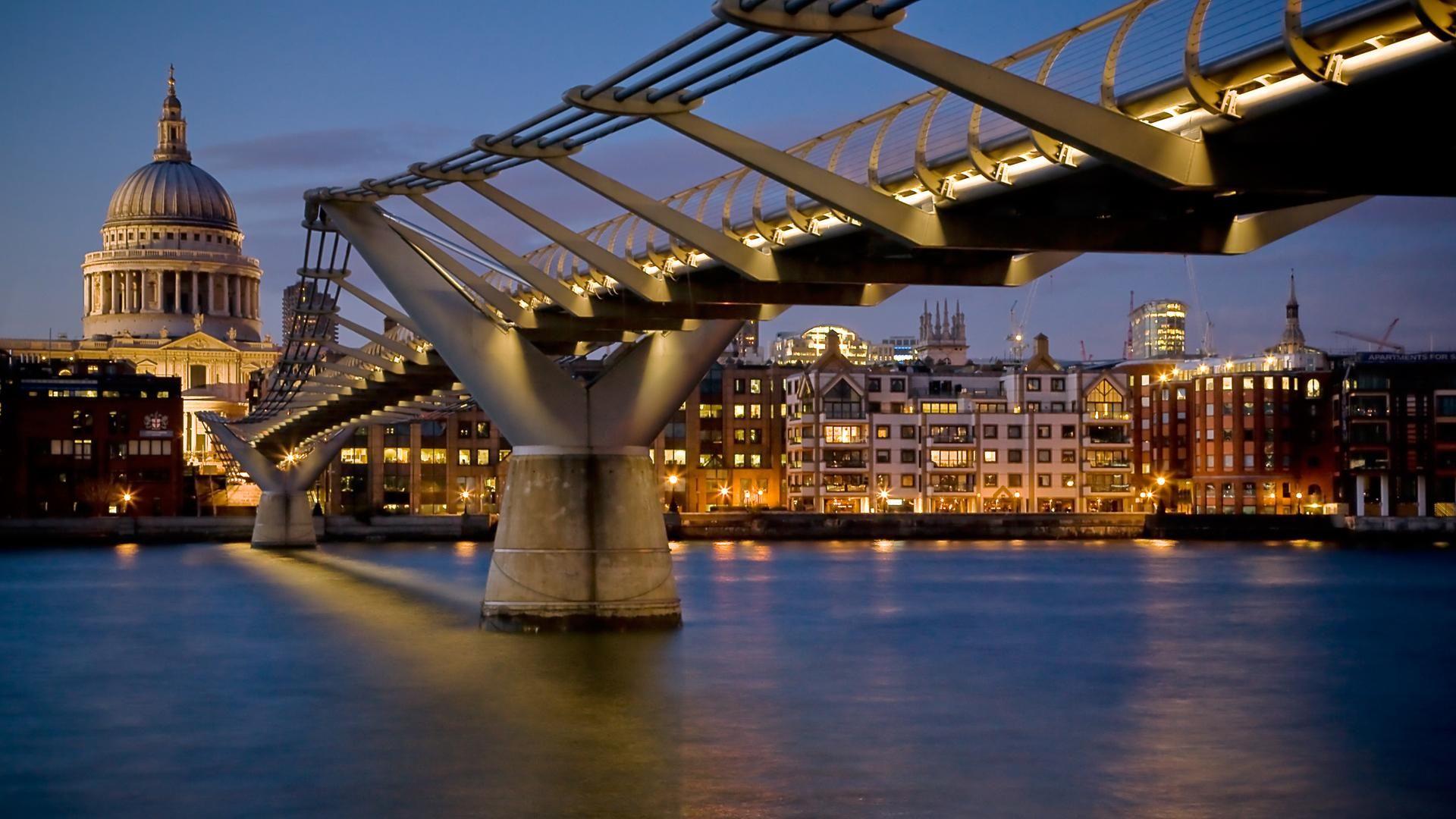 Bridges Cities Photo Wallpaper Image Download On The Desktop Pc, Tablet