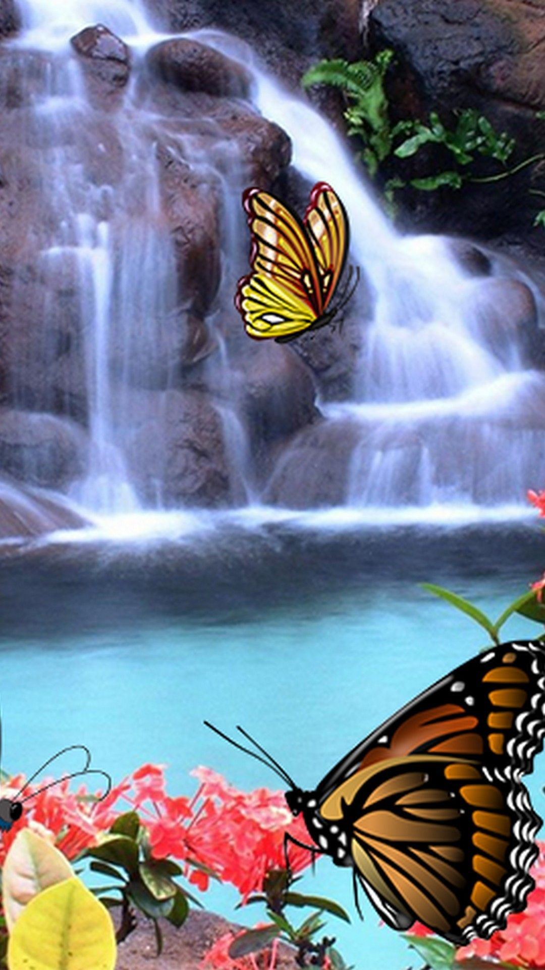 21 3d Butterfly iPhone Wallpapers - Wallpaperboat