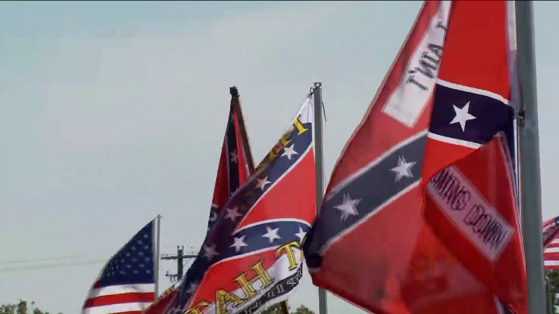 Confederate Flag Supporters