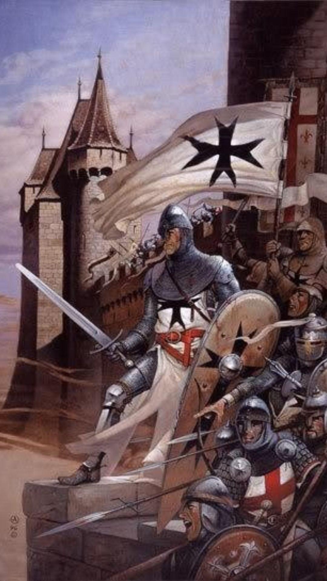 Crusader Knight, Medieval World, Medieval Knight, Medieval Times, Medieval
