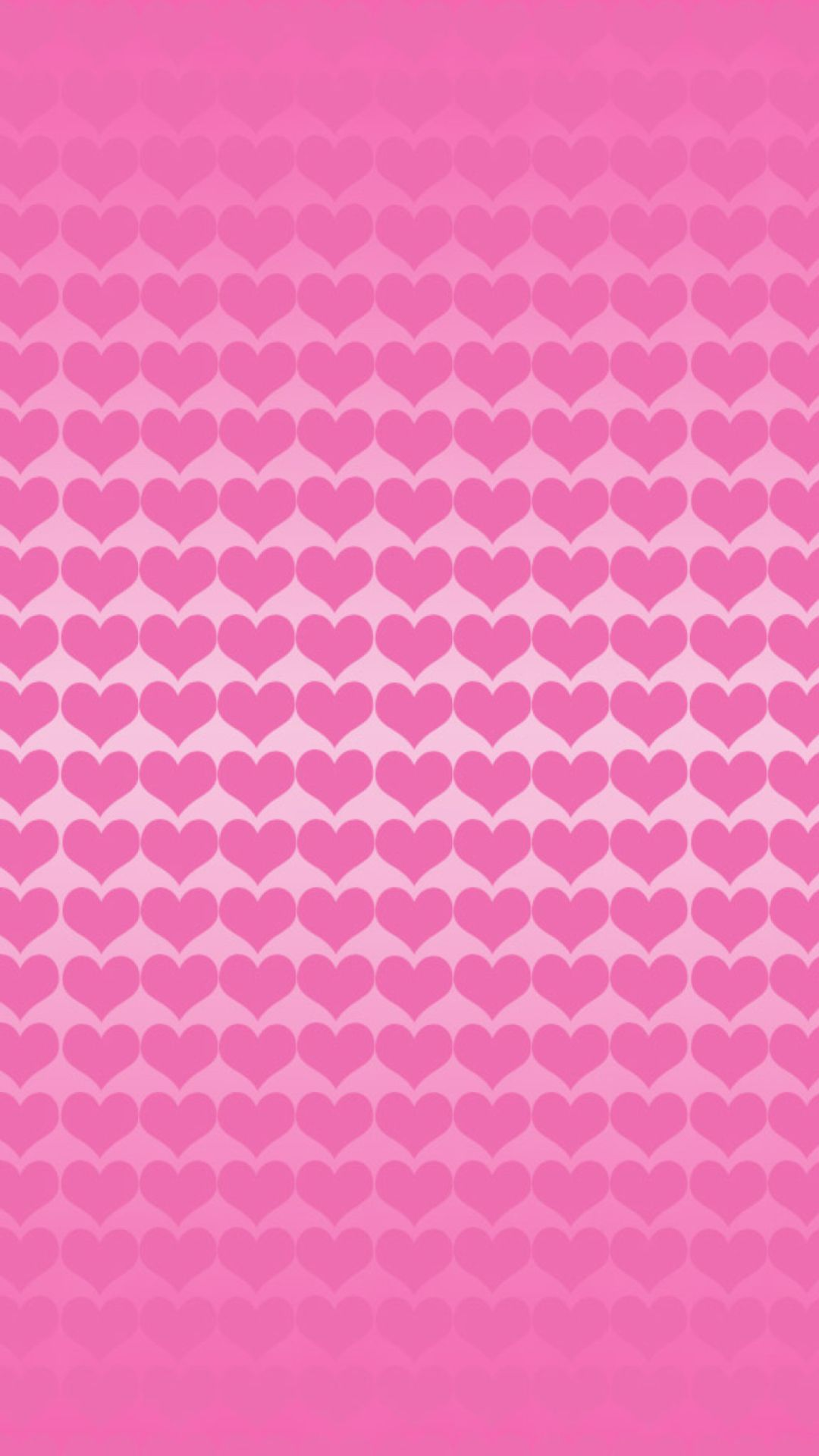 Cute Pink Designs Hearts Wallpaper For Iphone Plus