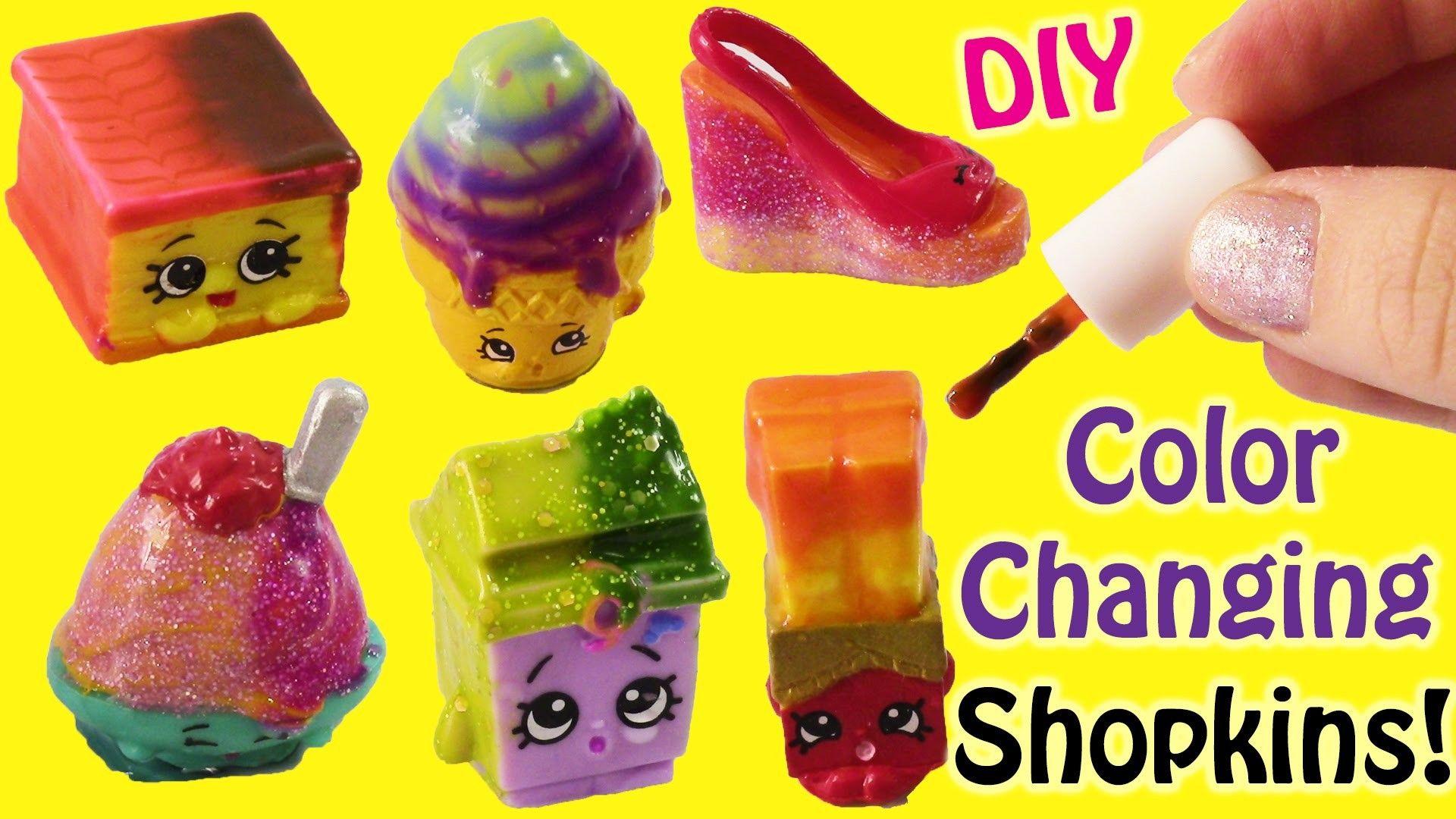Diy Shopkins Color Changers